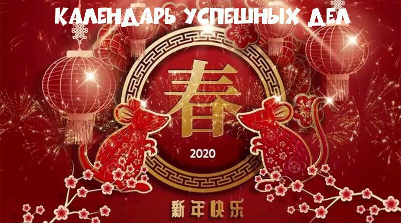 Планирование успешных дел на 22 января 2020 года по китайскому календарю