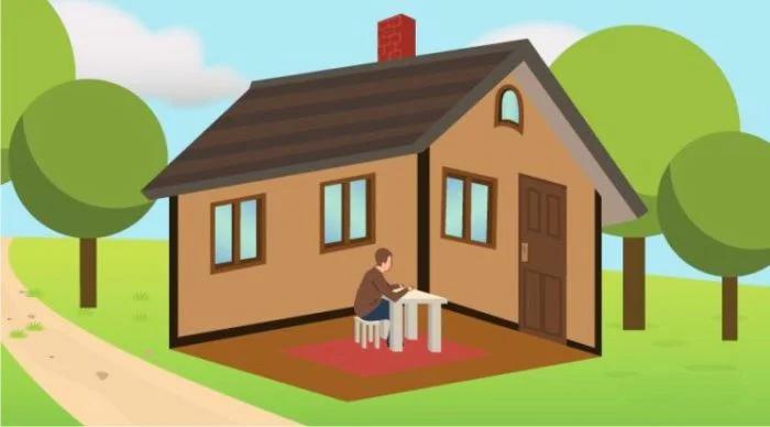 Тест: Человек внутри дома или снаружи, ответ определит тип темперамента