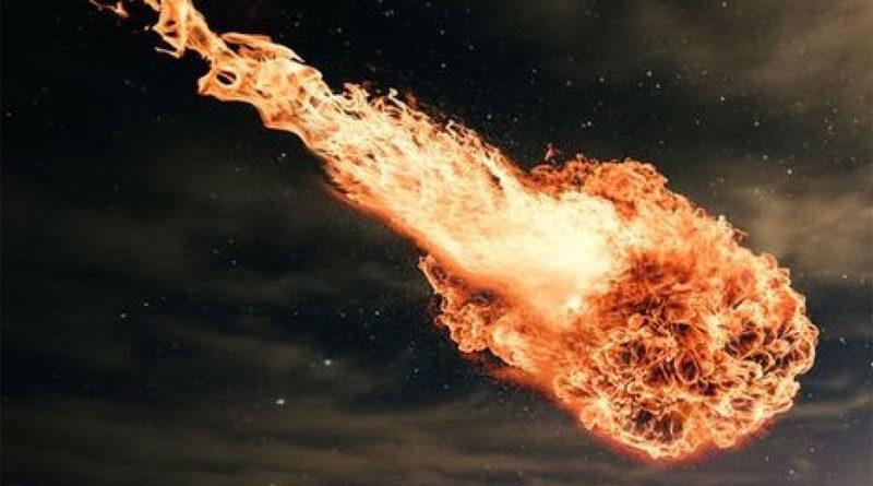 В Турции взорвался метеорит