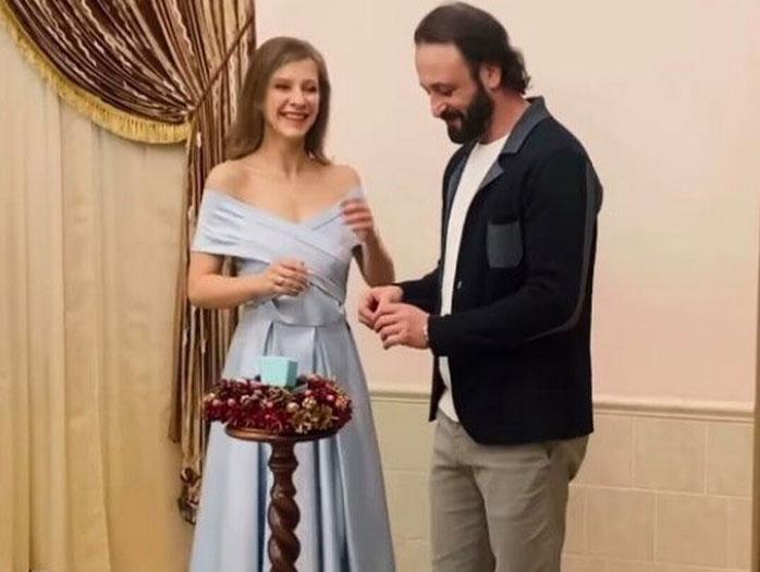 Илья Авербух и Лиза Арзамасова