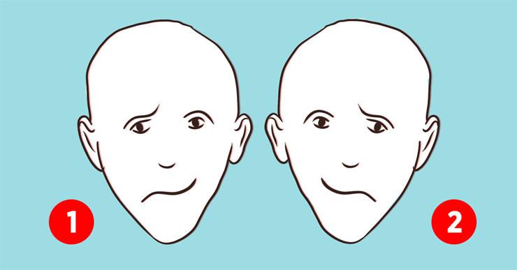 Личностный тест: какое лицо кажется тебе более счастливым и что это значит